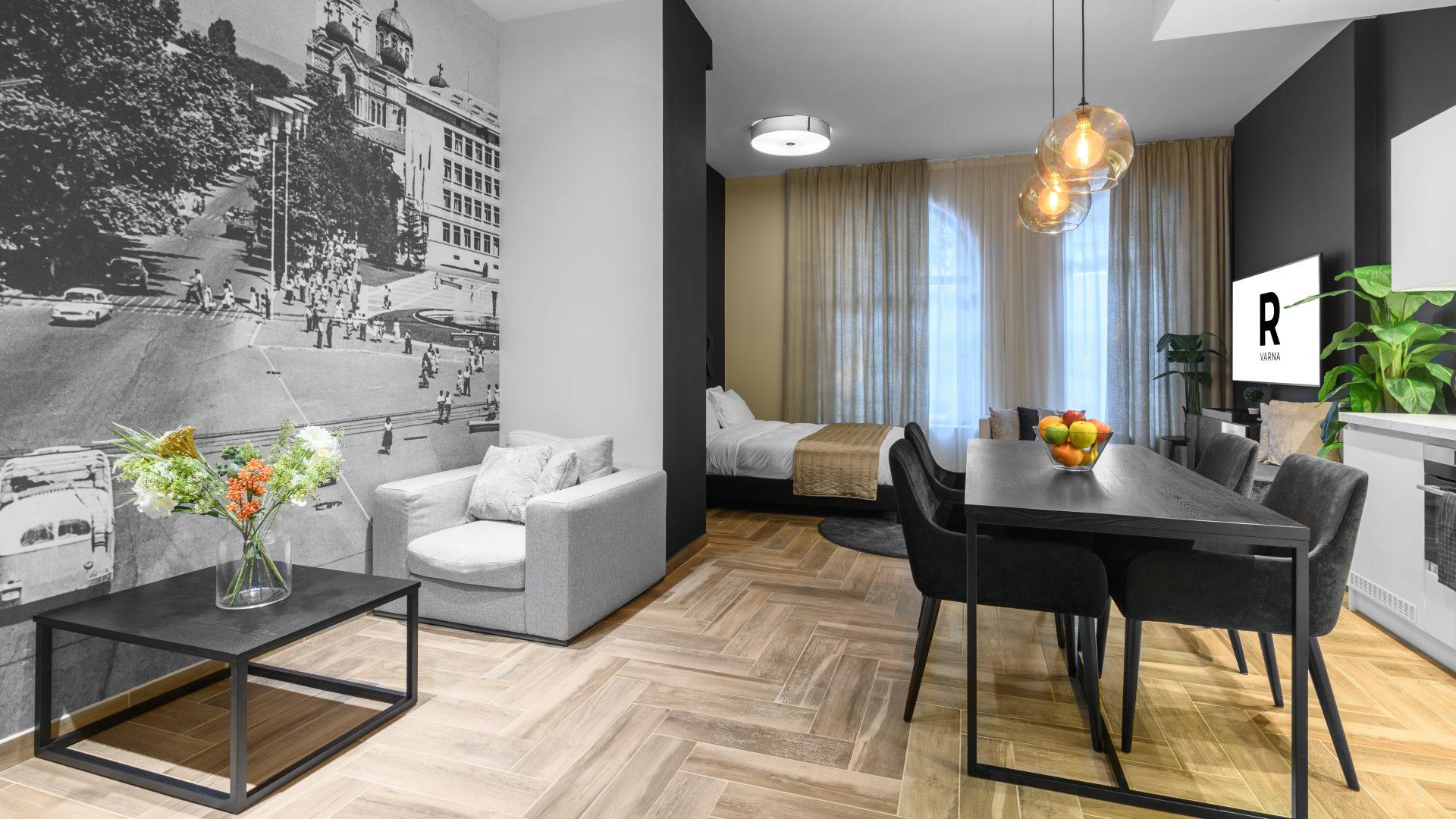 Deluxe holiday studio for rent in Varna